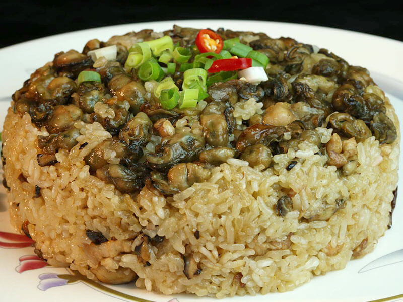 Dried Oyster Rice